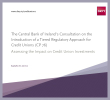 Credit Union Investment Research Papers.